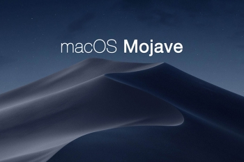 Disponibile macOS 10.14 Mojave.